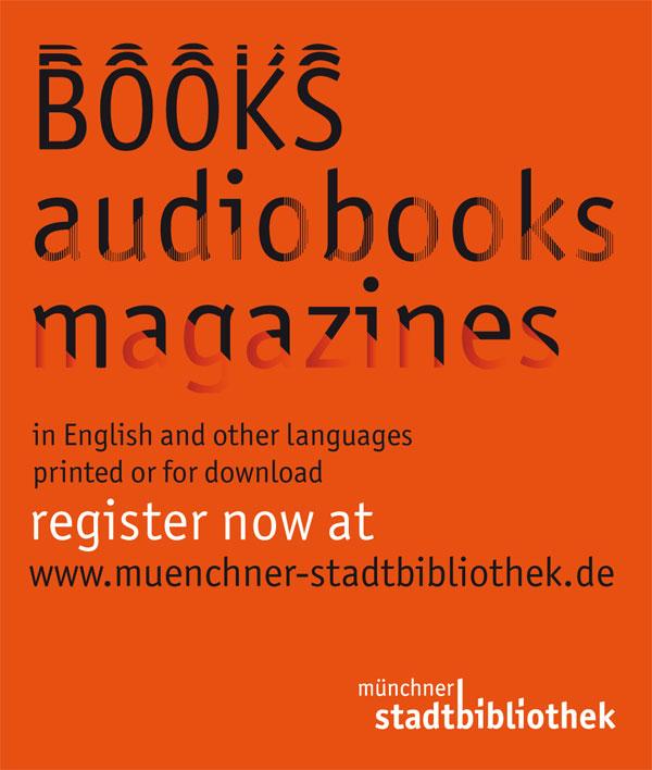 Anzeige der Münchner Stadtbibliothek